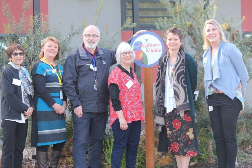 Gardens for Wildlife Victoria launch photo